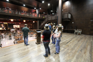 Sett picture from stage